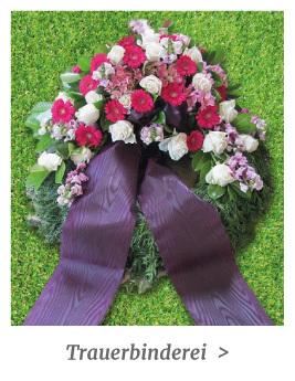 Trauerbinderei - Trauerkränze und Blumengebinde